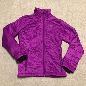 Columbia Omni-Heat Purple Puffer Coat